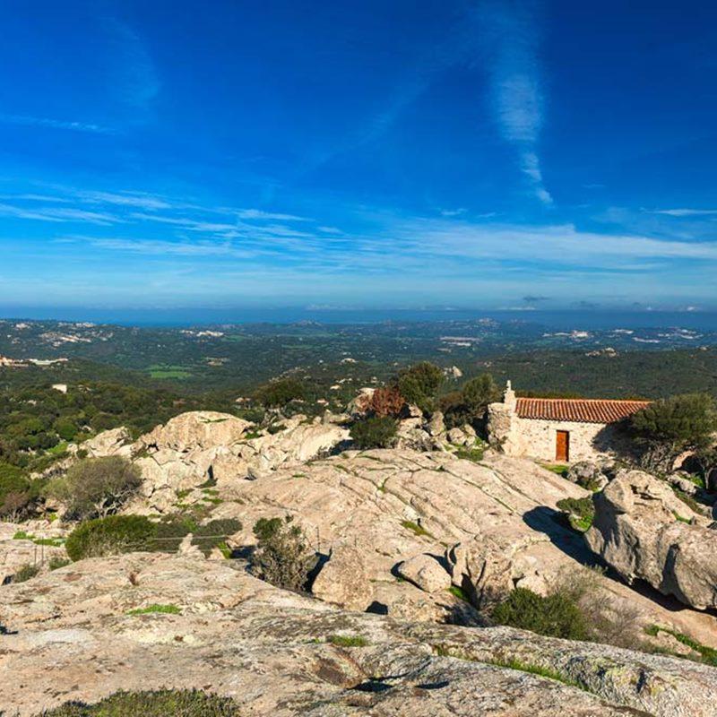Das Vorgebirge von San Trano Hotel San Trano